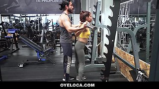 Evelin Suarez - Evelyn Suarez In Working Out Her Latina Pussy