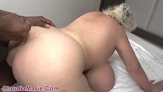 Claudia Marie Fucks in the Shower and the Bedroom