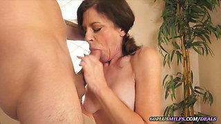 grandma has anal sex