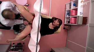 Japanese False Gyno Doctor Exam Girls Spycam
