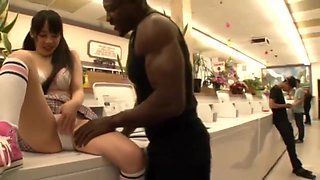 Wesley Pipes And Ruka Kanae In Loves Black Cock