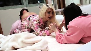 Flexible playfellow's daughter in law and dad makes '