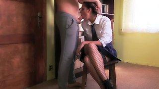 Extreme Hard Deepthroat Abuse Of Teen Schoolgirl (Gagging, Cum In Throat)