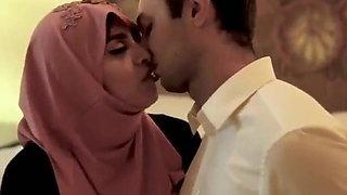 Naughty girl in a hijab