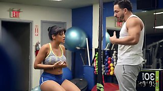 Gym Fiend Pua Caught In Action W Curvy Ho With Kosame Dash And Peter Green