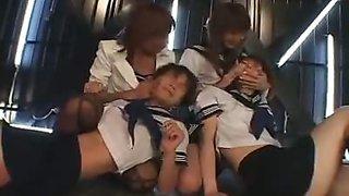 Humiliating the Schoolgirls
