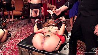 Roxanne Rae & John Strong & Keira Nicole in The Innocent Doll & Anal Slut Slave  - TheUpperFloor