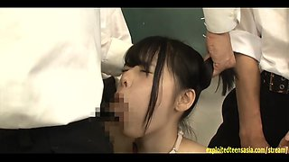 Jav Idol Yamakawa Yuna Bullied And Fucked In Class For Being A Swat They Hold Her Down And Fuck
