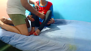 Desi girl first time sex with lover boyfriend in hause