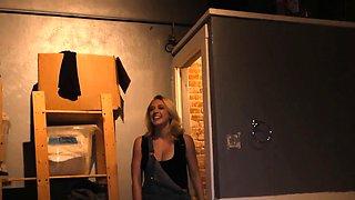 Kagney Linn Karter sucks BBC at Gloryhole