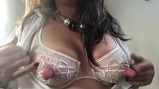 in the office - horny pregnant secretary