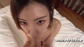 Hot Korean whore fucked by horny Japanese man