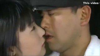 Japanese school girl seduce guy