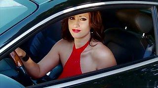 Best pornstar Eva Notty in fabulous striptease, outdoor adult video