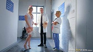 Nurse Marica Drains Doctor D!