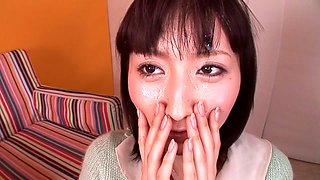 Hottest Japanese model in Crazy Teens, Glory Hole JAV video
