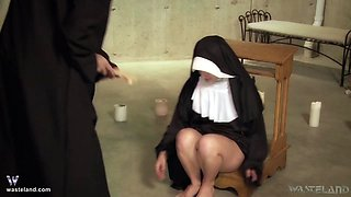 Jade Thomas & Simon Blackthorne in Bless Me Father, For I Have Sinned - KINK