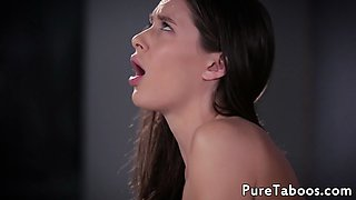 Taboo stepdaughter bent over and doggystyled
