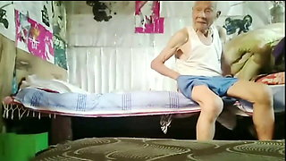 90-year-old man fucks a prostitute