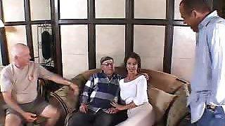 Horny Housewife Vanessa Teasing Her Husband