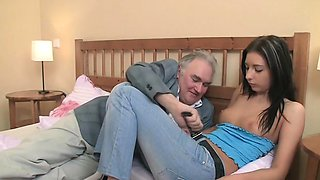 Glamour russian maid deep throat fellatio