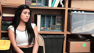 Shoplyfter- Cute Asian Teen Strip searched