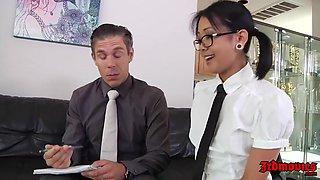 Japanese School Girl Saya Song In Short Skirt Riding Cock