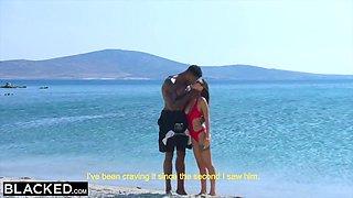 Perfect Beauty Fucks Her Ebony Diving Coach - Jason Luv And Liya Silver