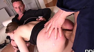 Husband Brought Home A Friend For Double Penetration With His Wife With Erik Everhard, Lilit Sweet And David Perry