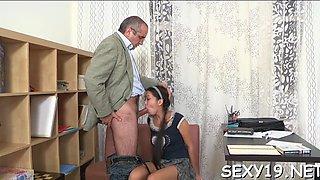 hot riding with mature teacher clip