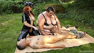 Monika & Amy & Martin in Ssbbw & Chubby Combo - KINK