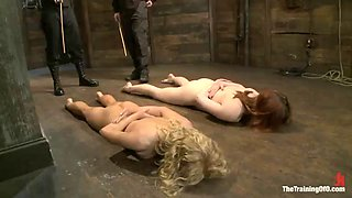 two sex slave sluts are forced into submission