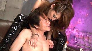 Yuuki Misa in FUCK Your Sister Strap-on Dildo In The Piston 06 Geki Paradise Man M!!