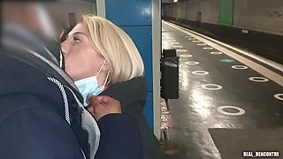 French Nympho Megane Lopez Cheats On Her Boyfriend With A Stranger She Met In A Train Station !!!