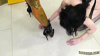 Brutal anal machine Charlotte Sartre Uncensored Level 11!