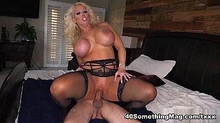 A big, fat dick for Alura's ass - Alura Jenson and Logan Long - 40SomethingMag