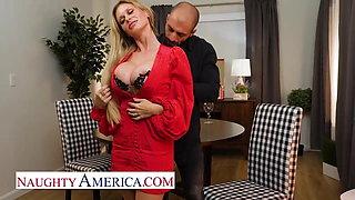 Naughty America - Casca Akashova is a beautiful blonde MILF