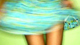 Hairy pussy amateur Thai teen POV sex