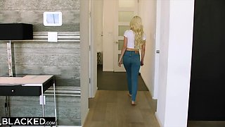 Jason Luv, Jean Val Jean And Elsa Jean In Cant Keep Her Hands Off Such A Big Black Cock