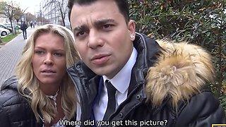 Czech bride Claudia Macc fucked in front of her upset groom