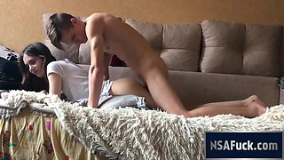 Skinny beautiful classy Russian girl gets severely dicked