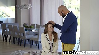TUSHY Babysitter Aspen Ora Fucked In The Ass