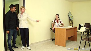 Cathy Playing The Teacher