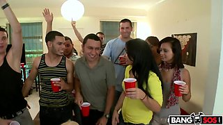Crashing a College Party