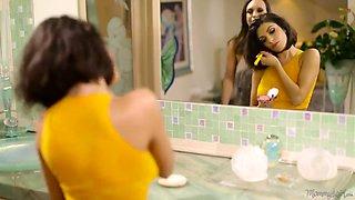 Madness! Big Boobs Mature Lady Ava Addams Seduces Two Slutty Sisters
