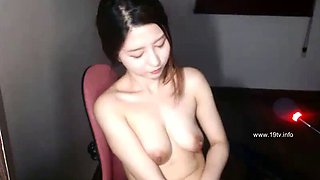 Korean hot camgirl sensual masturbation