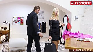 letsdoeit - blonde beauty gets drilled by a stranger
