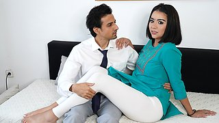 Indian MILF COVID patient fucked by the pervert Doctor