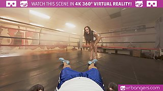 Busty milf Kendra Lust getting fucked hard in the boxing ring