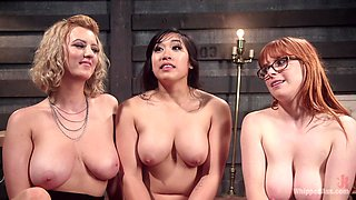 lesbian threesome is amazing experience for Penny Pax and Mia Little
